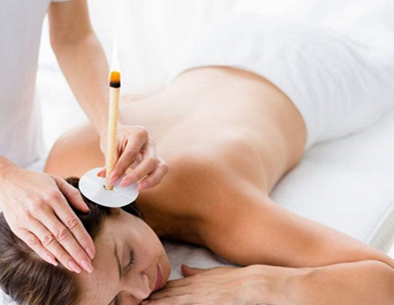 Ear and body candle massage therapy Luton